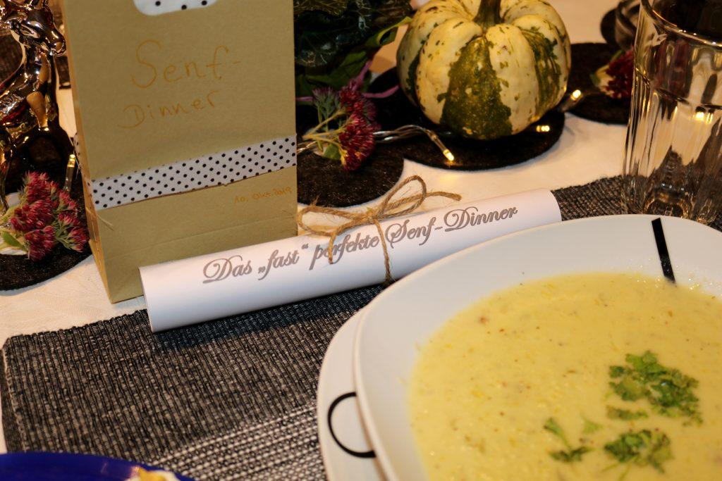 Käse-Senf-Suppe